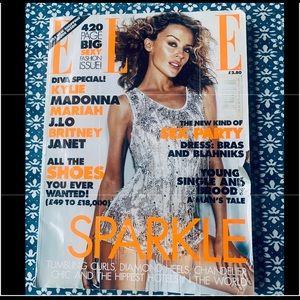 British Elle October 2001 Kylie Minogue